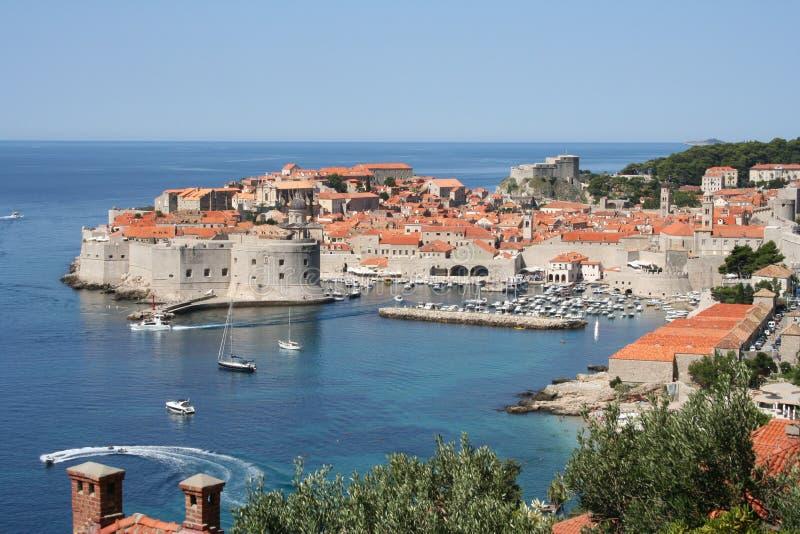 Dubrovnik-Croacia imagenes de archivo
