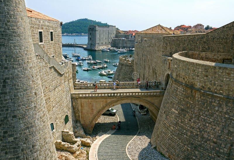 Dubrovnik, Croatia imagen de archivo
