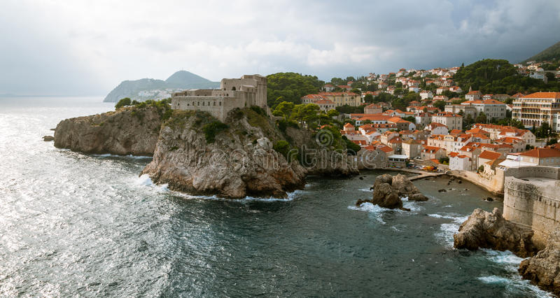 Dubrovnik Croatia fotografie stock