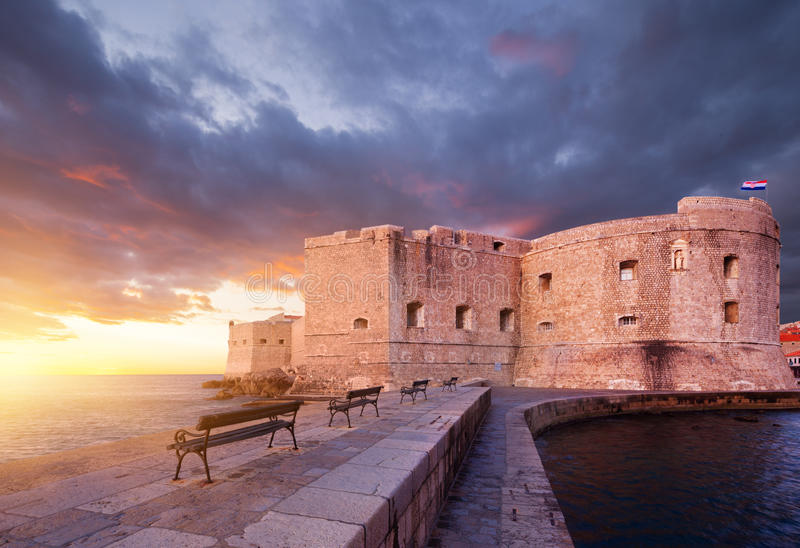 Dubrovnik. Croatia royalty free stock photo