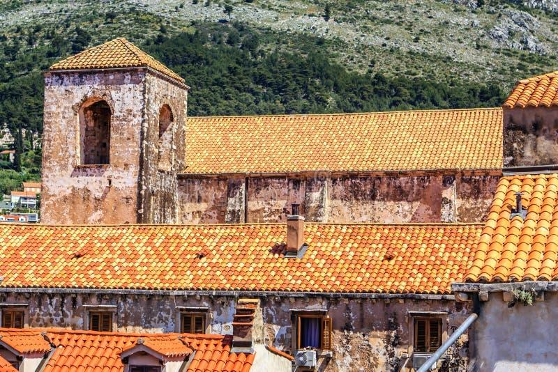 Dubrovnik, Dalmácia, Croácia fotos de stock royalty free