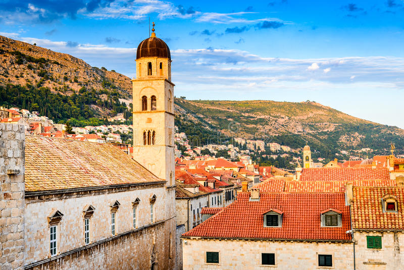 Dubrovnik, Dalmacia, Croacia imagen de archivo