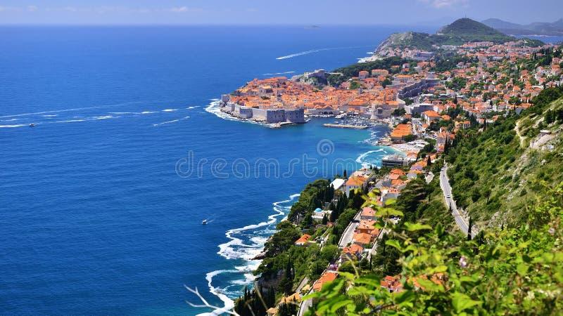 Dubrovnik, Dalmatien, Kroatien lizenzfreie stockbilder