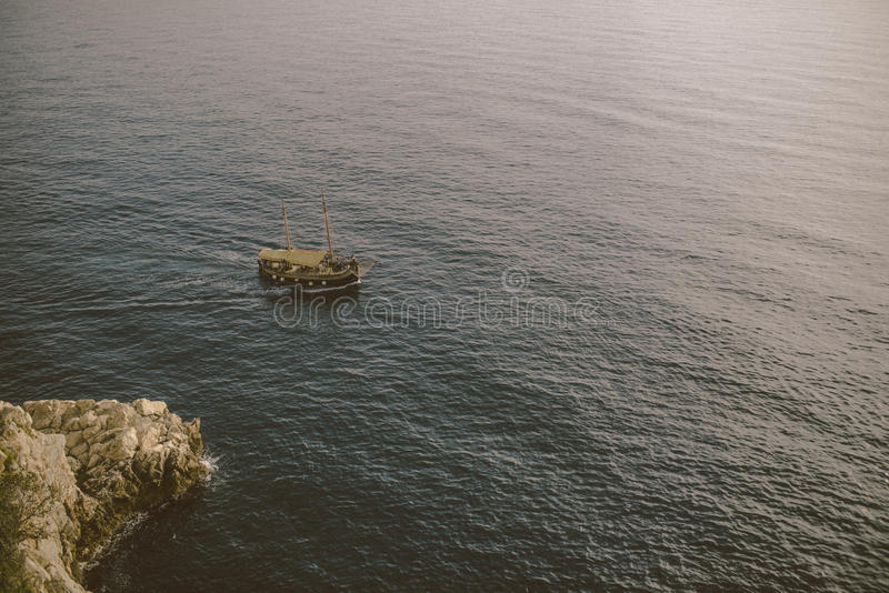 Dubrovnik denny przód obraz stock
