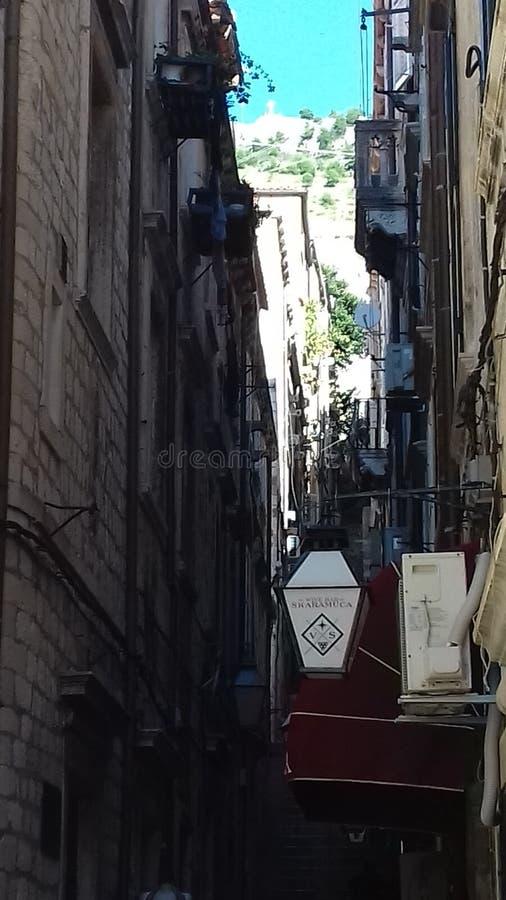 Dubrovnik-Durchgang stockfotos
