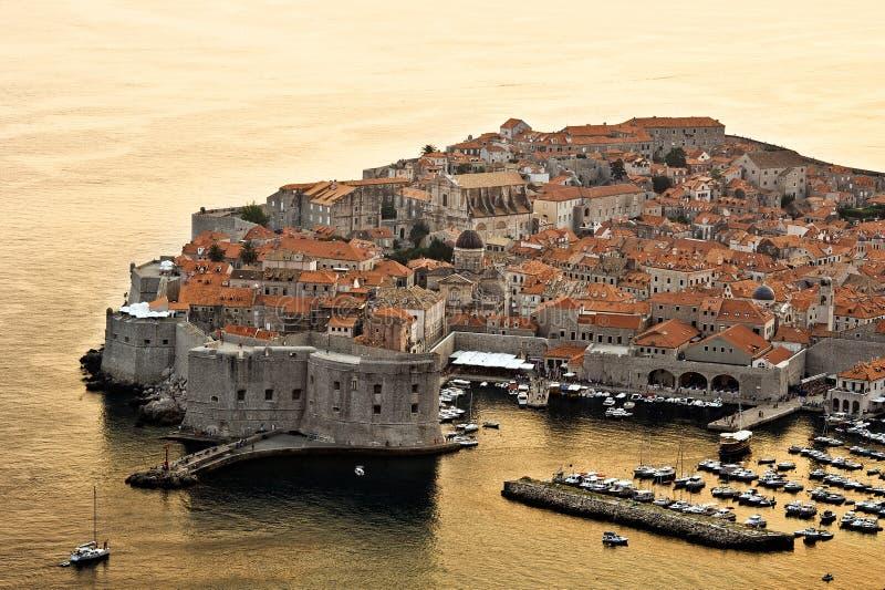 Dubrovnik en Croatia fotografía de archivo
