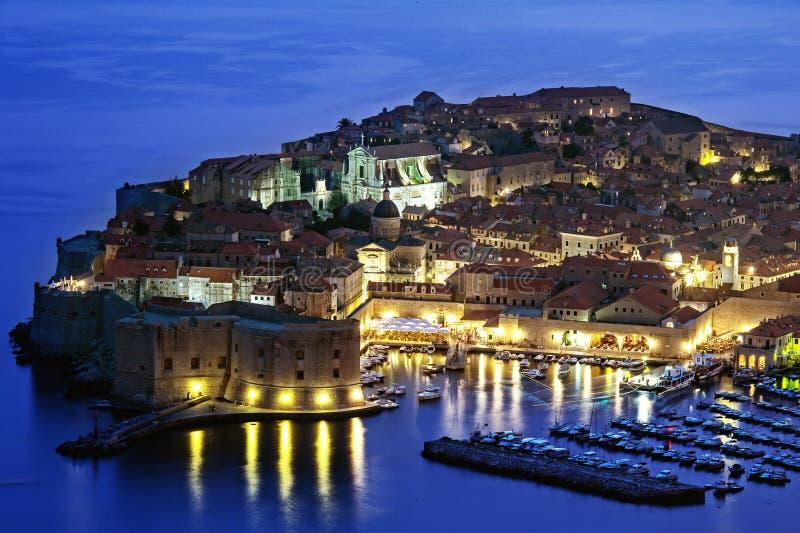 Dubrovnik en Croatia fotos de archivo