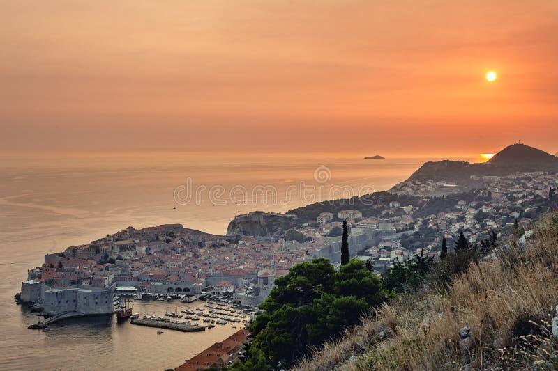Dubrovnik en Croatia imagen de archivo libre de regalías