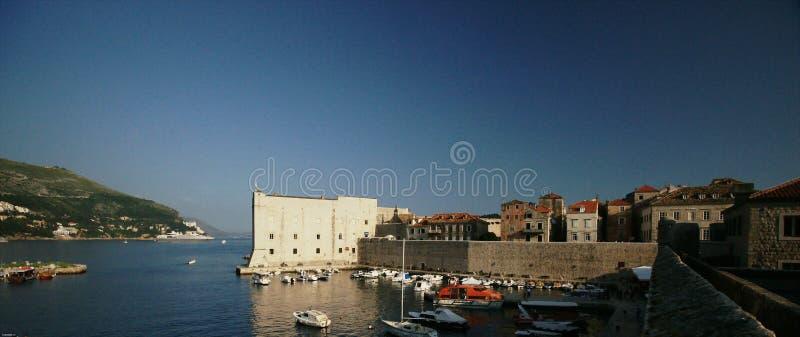 Download Dubrovnik Harbor stock image. Image of houses, boats - 14742551
