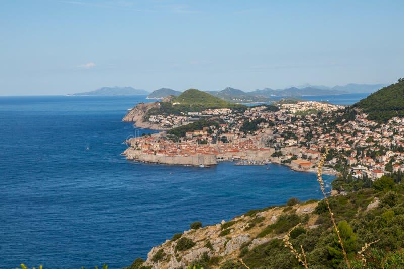 Dubrovnik histórico, Croacia imagen de archivo