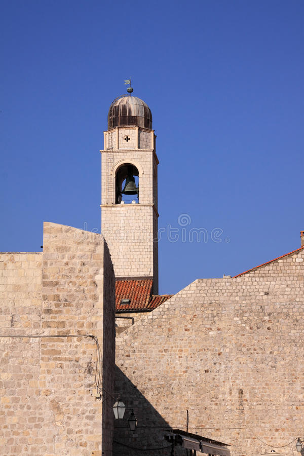 Download Dubrovnik Historic Clock Tower And City Walls Stock Images - Image: 22990194