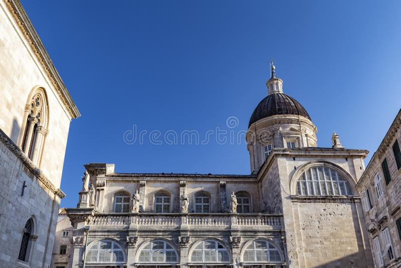 Dubrovnik-Kathedrale lizenzfreie stockfotografie