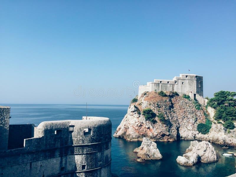 Dubrovnik - Kroatië stock afbeelding