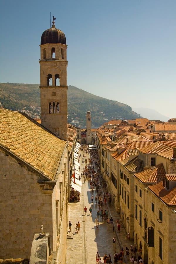 Dubrovnik, Kroatië royalty-vrije stock fotografie