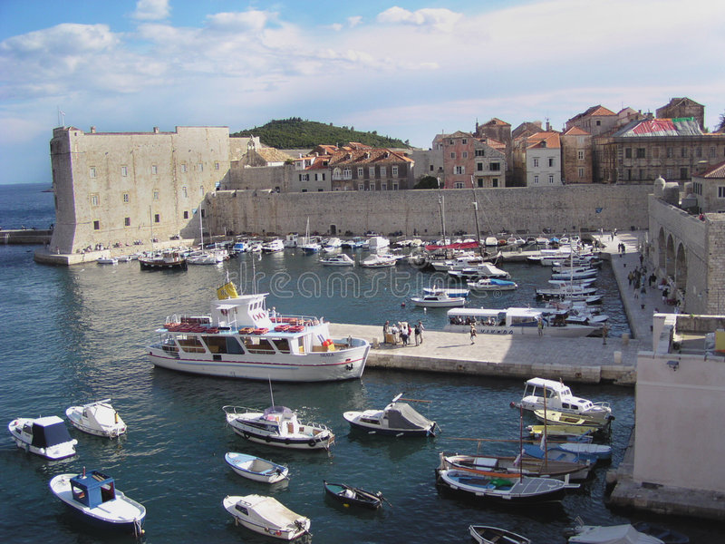 Dubrovnik (Kroatië) royalty-vrije stock afbeeldingen