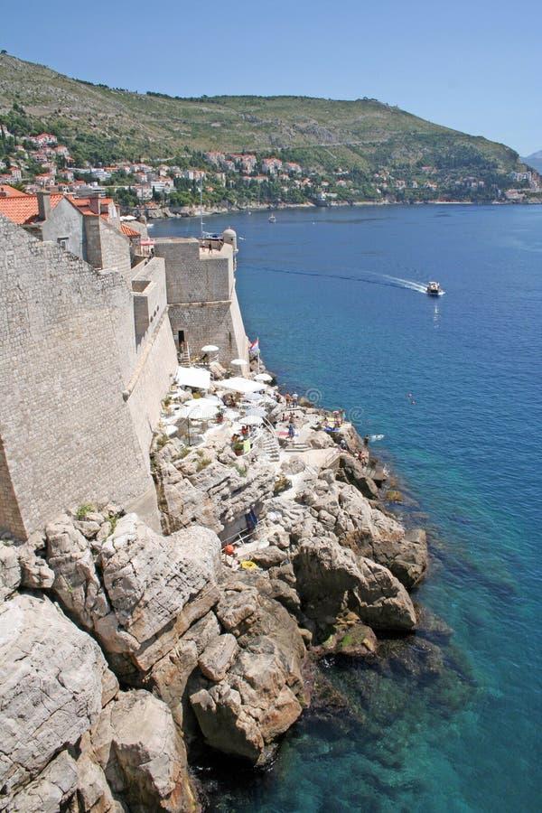 Dubrovnik-Kroatië royalty-vrije stock foto's