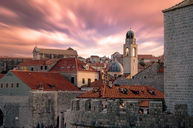 Dubrovnik, Kroatië stock foto