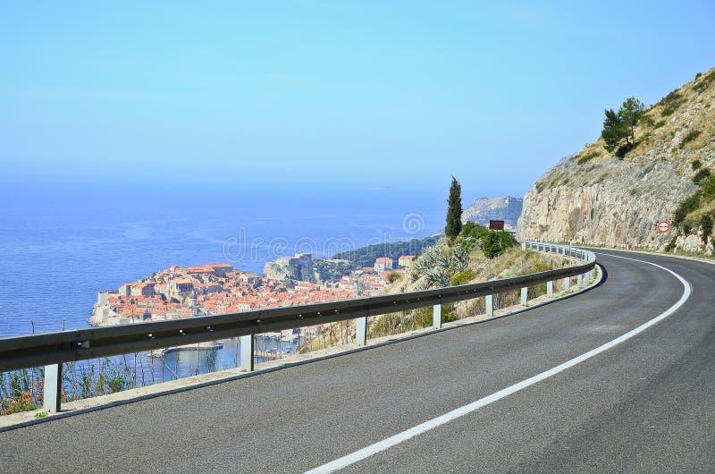 Dubrovnik Kroatien arkivfoto