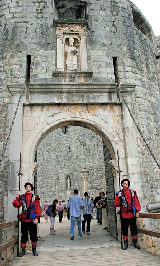 Dubrovnik Kroatien lizenzfreies stockbild