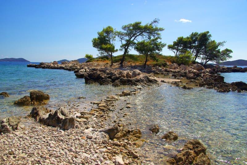 Dubrovnik la Riviera image stock