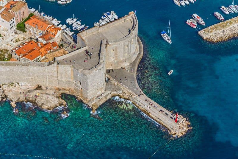 Download Dubrovnik old town stock photo. Image of croatian, coastline - 26638850