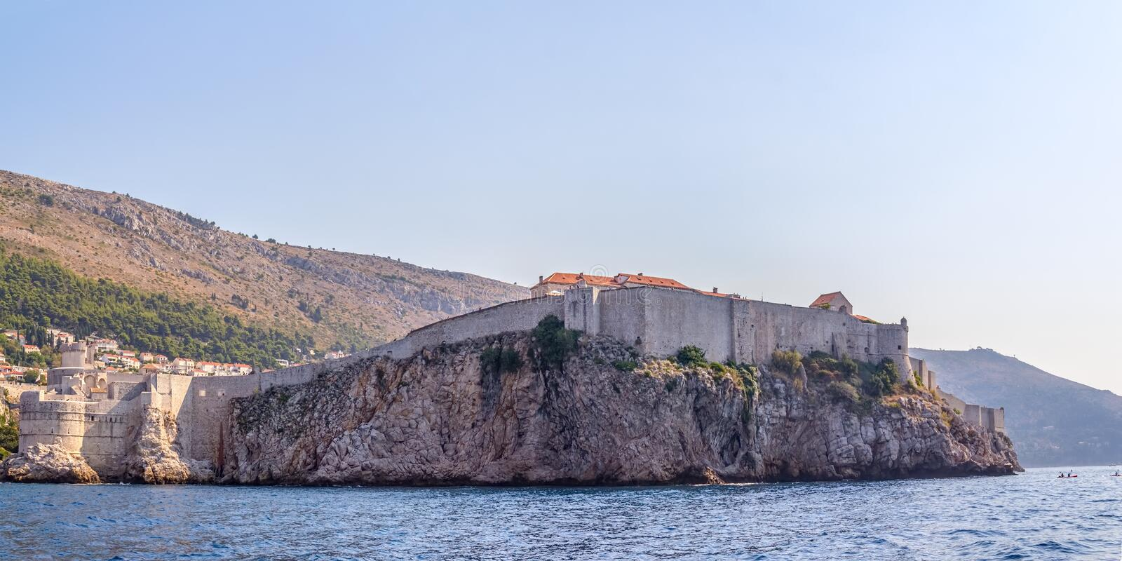 Download Dubrovnik old town stock photo. Image of protection, destination - 28224024