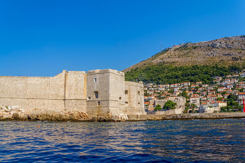 Download Dubrovnik old town stock photo. Image of heritage, morning - 28224062