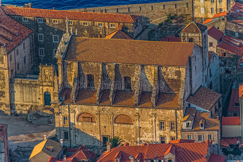 Download Dubrovnik old town stock photo. Image of fort, dalmatia - 28226562