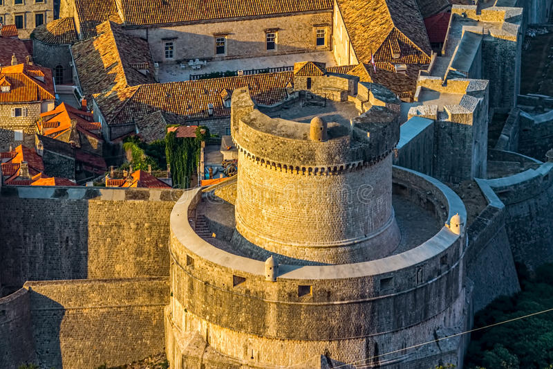 Download Dubrovnik old town stock photo. Image of landmark, ancient - 28226606