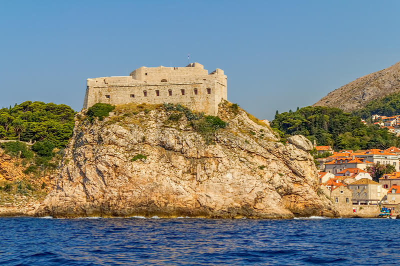 Download Dubrovnik old town stock photo. Image of city, history - 28226914