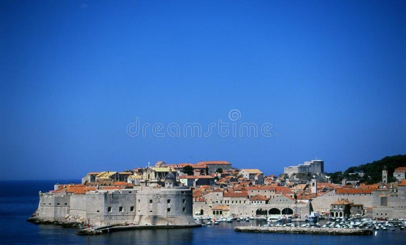 Dubrovnik - oude schoonheid stock fotografie