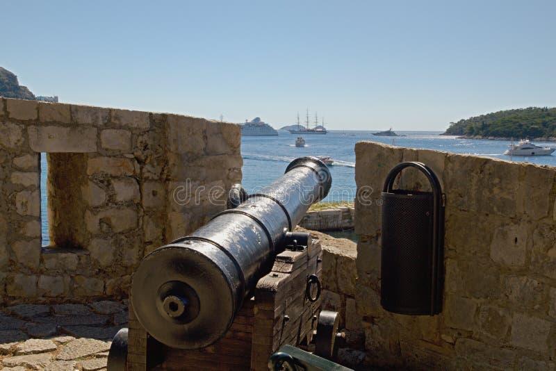 Dubrovnik - perła Adriatycki zdjęcia royalty free