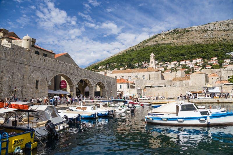 Download Dubrovnik. Port editorial photo. Image of port, water - 34923556