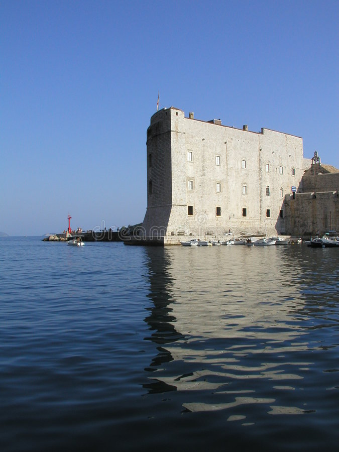 Dubrovnik - St Ivan royalty free stock photo