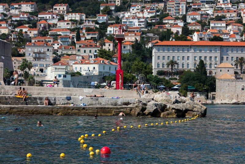 Dubrovnik St John fortu molo obrazy royalty free