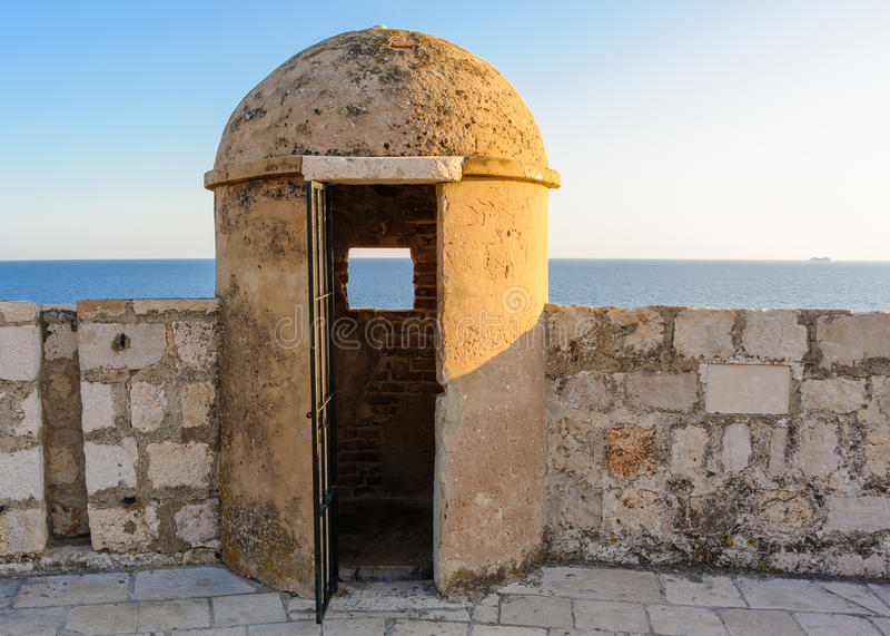 Dubrovnik St Marguerite bastion zdjęcia royalty free