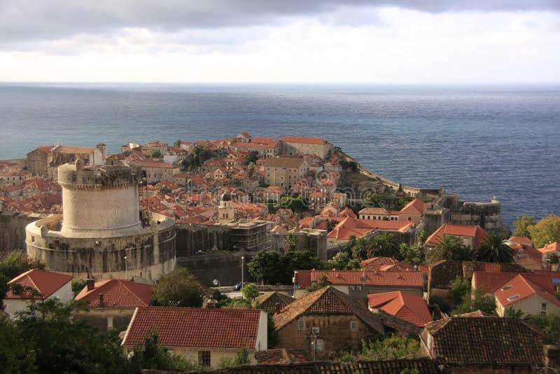 Dubrovnik stary miasteczko, Chorwacja zdjęcie stock
