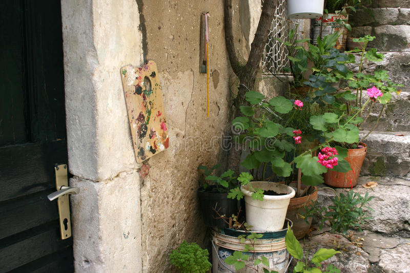 Dubrovnik street stock photography