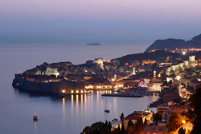 Download Dubrovnik At Sunset, Croatia Royalty Free Stock Photos - Image: 27485698