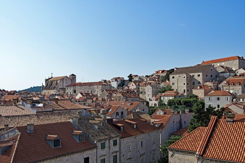 Dubrovnik taktrianglar 1 royaltyfri foto