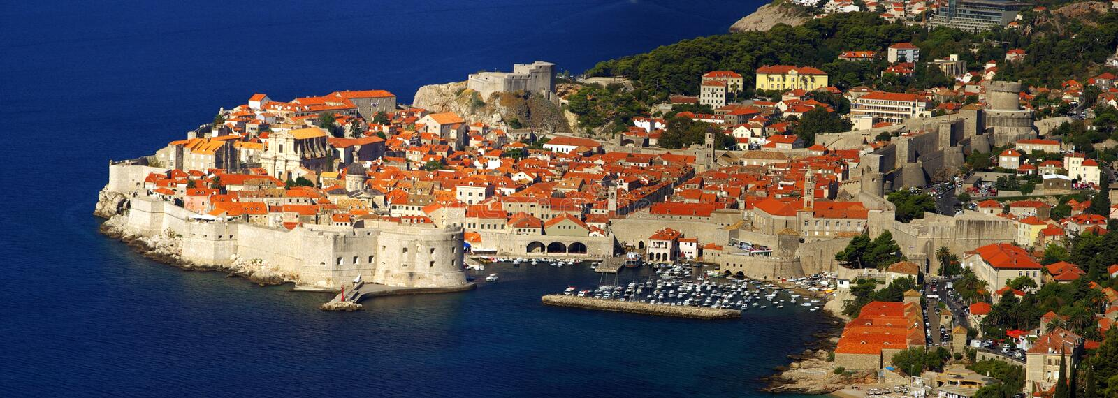 Dubrovnik view 06 royalty free stock photography