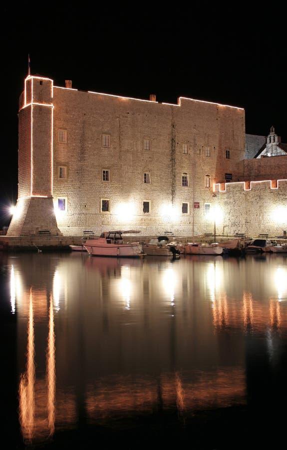 Dubrovnik walls stock photography