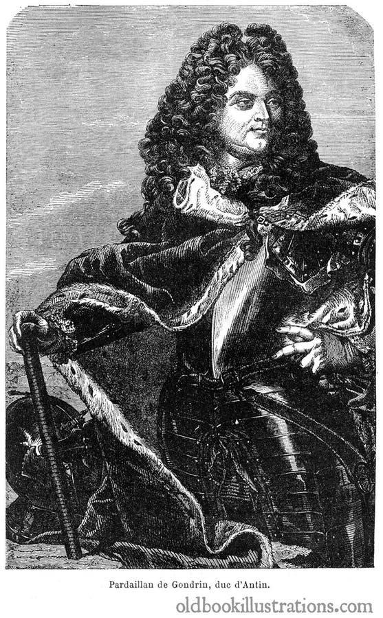 Duc d'Antin images stock