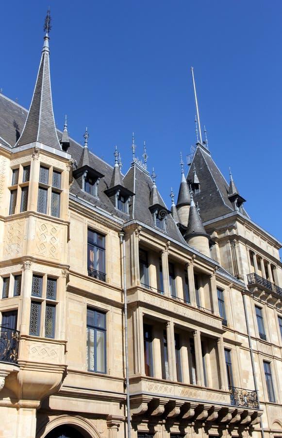 Duc grand palais au Luxembourg image libre de droits