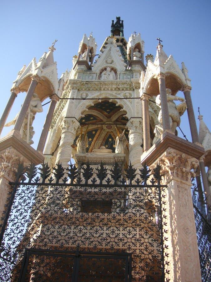Duca del mausoleo della Brunswick fotografie stock