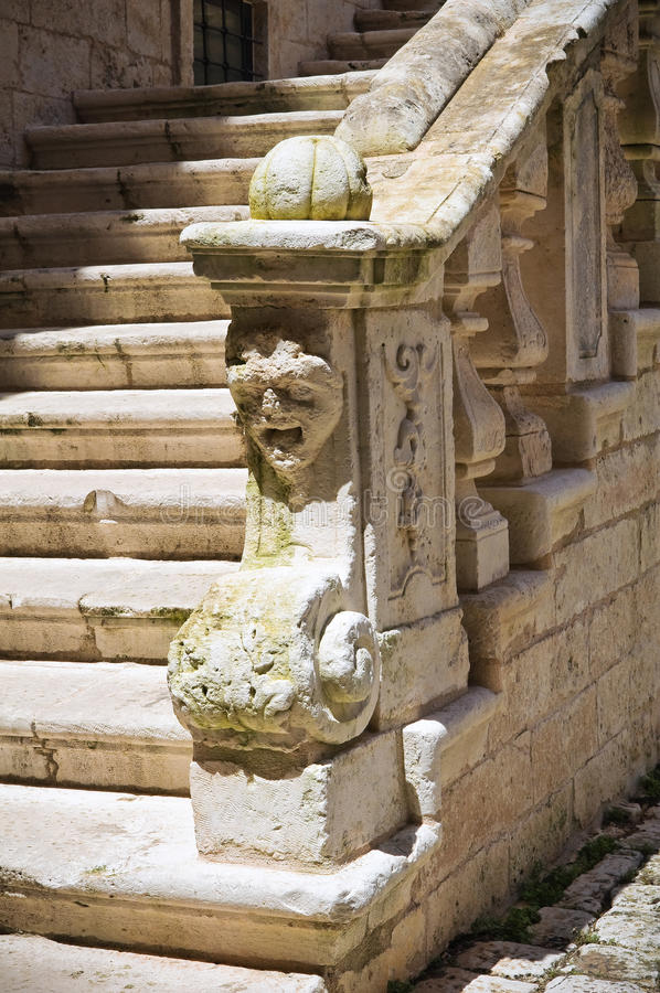 Ducal Castle. Ceglie Messapica. Puglia. Italy. Stock Photography