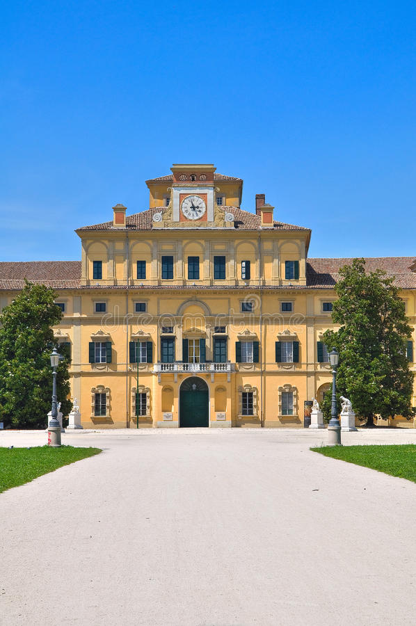 Ducal Garden's Palace. Parma. royalty free stock image