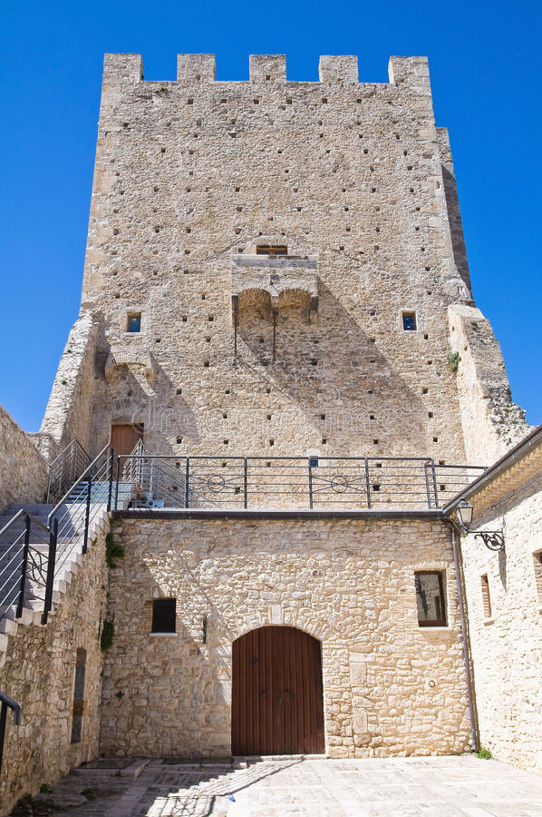 Download Ducal Palace. Pietramontecorvino. Puglia. Italy. Stock Image - Image: 24525359
