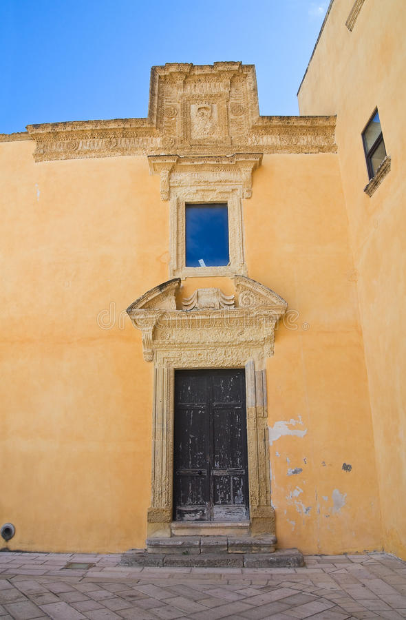 Download Ducal Palace. Presicce. Puglia. Italy. Stock Photo - Image: 31421362