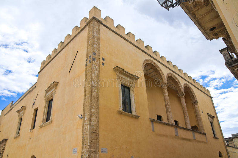 Download Ducal Palace. Presicce. Puglia. Italy. Stock Photo - Image: 35764274
